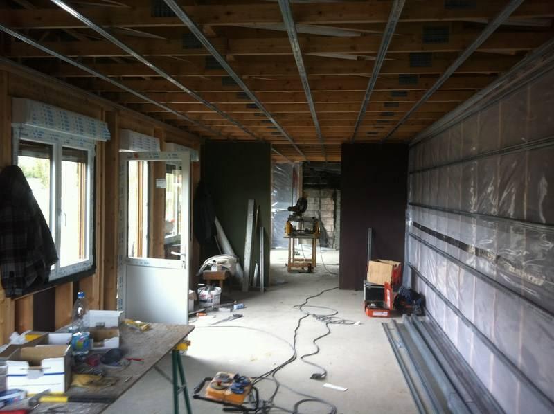 entreprise construction extension garage maison ossature