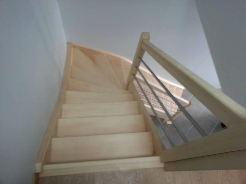 Fabricant escalier Douai Devis escalier sur mesure bois, inox Nord  # Escalier Bois Sur Mesure