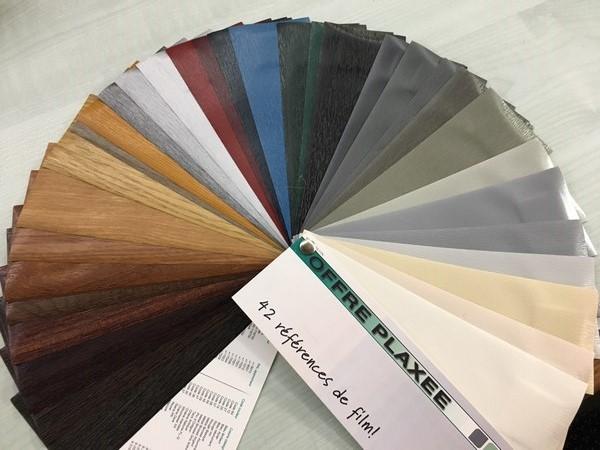 Coloris menuiseries PVC